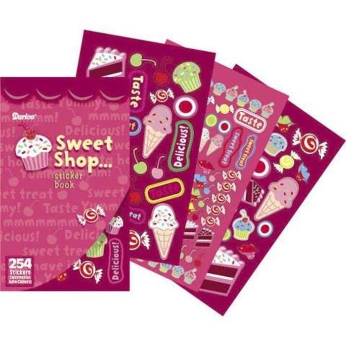 Sweet Shop Sticker Book