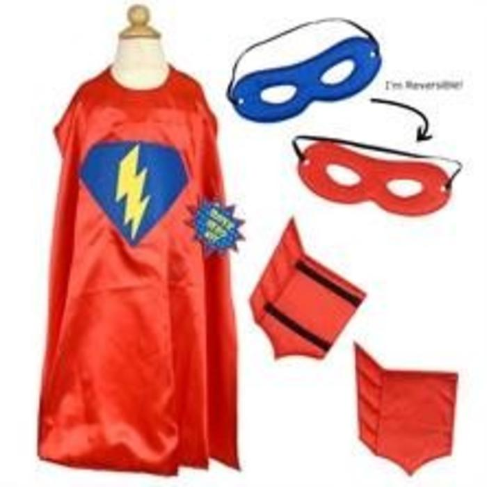 Super Hero Dress Up Kit, Red