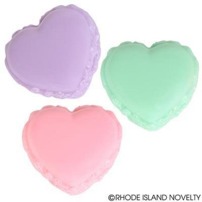 Heart Macaron Lip Gloss