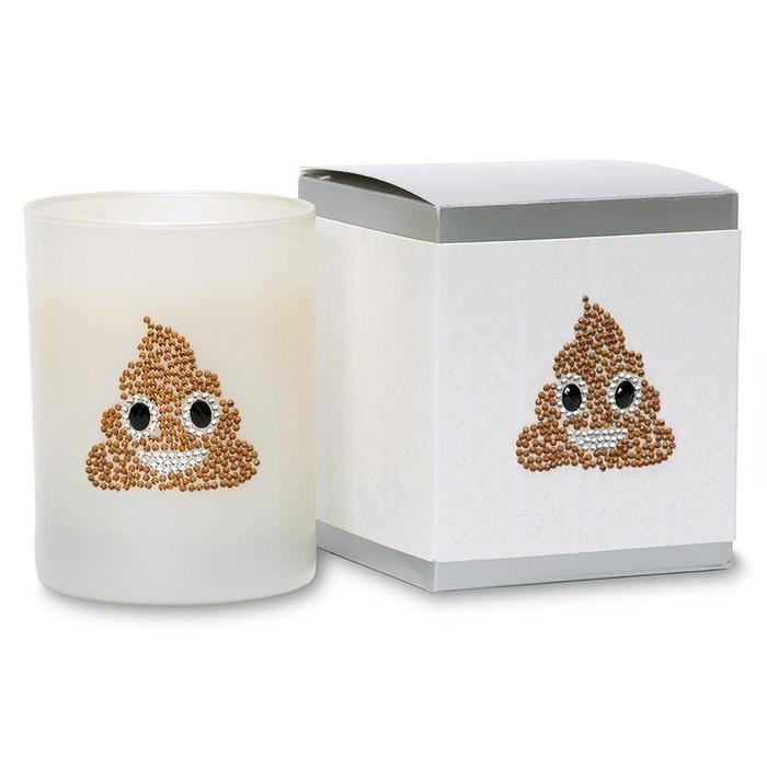 Pile of Poo  Icon Candle