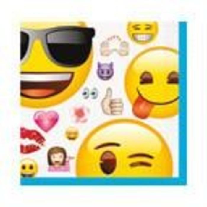 Emoji Bev Napkin