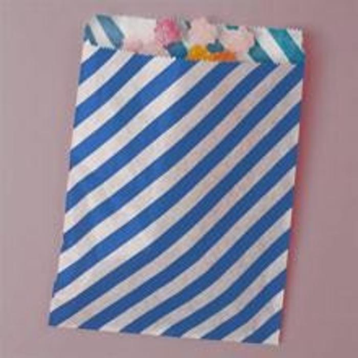 Royal Diagonal Striped Bags