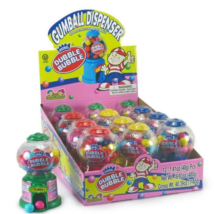 Dubble Bubble Mini gumball Machine