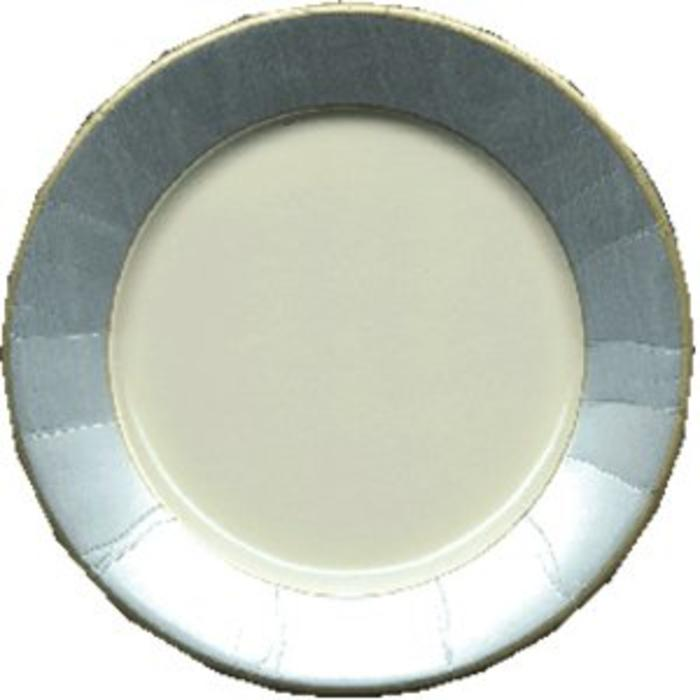 MOIRE SILVER SALAD/DESSERT PLATE