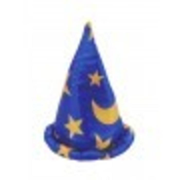 Wizard Cape/Hat, Blue, Sm