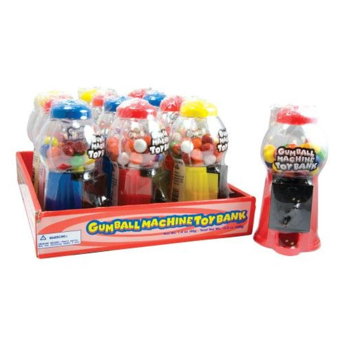 Gumball Machine Toy Bank