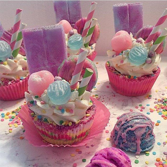 Fairytale Fusion Bath Bomb Cupcake