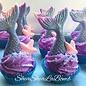 Mermaid Bath Bomb Cupcake