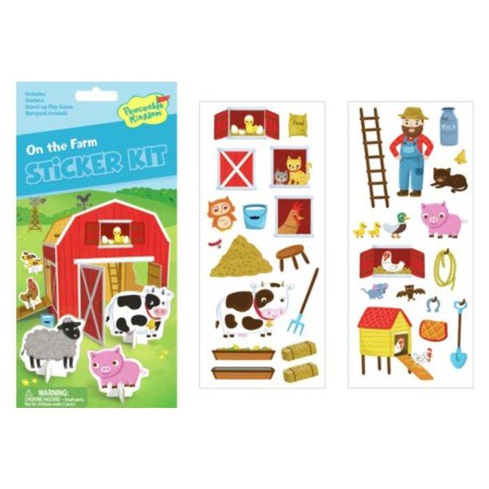On The Farm Quick Sticker Kit