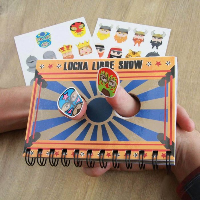 Thumb Wars Notebook & Sticker Set
