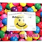 Happy Birthday Gumball Autograph Frame