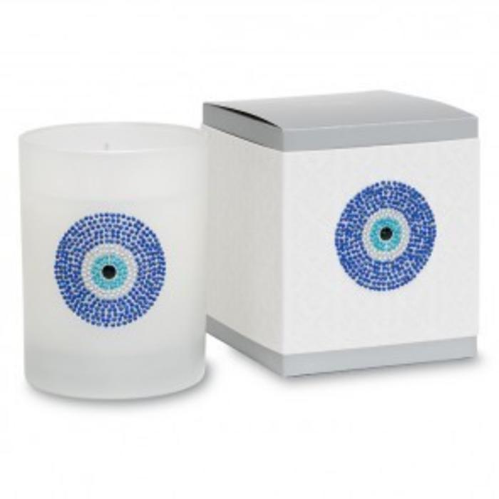 Evil Eye Icon Candle