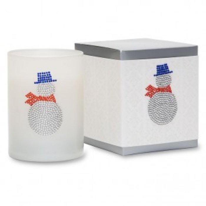 Snowy Icon Candle