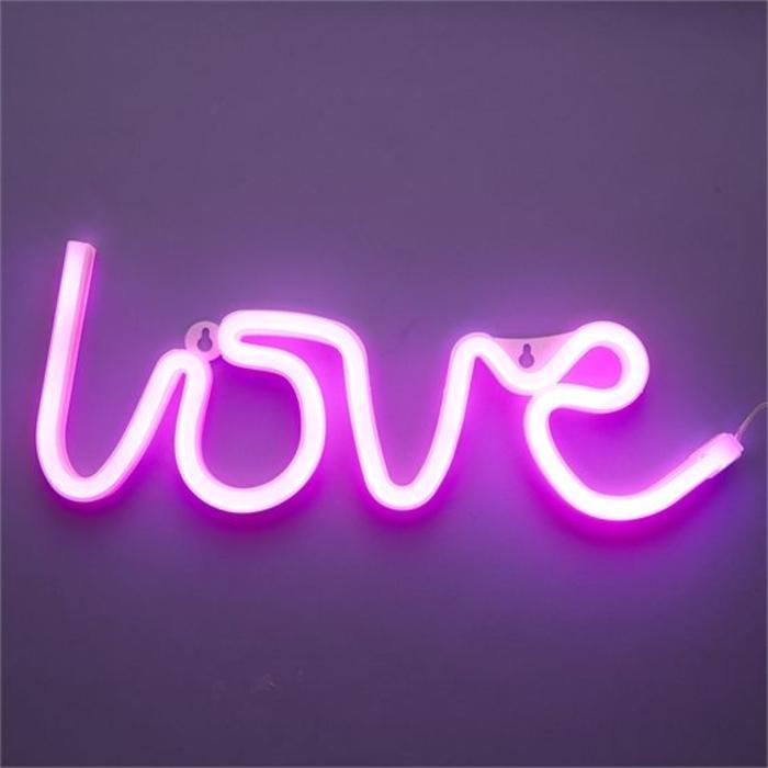 LOVE Neon LED Sign Decor