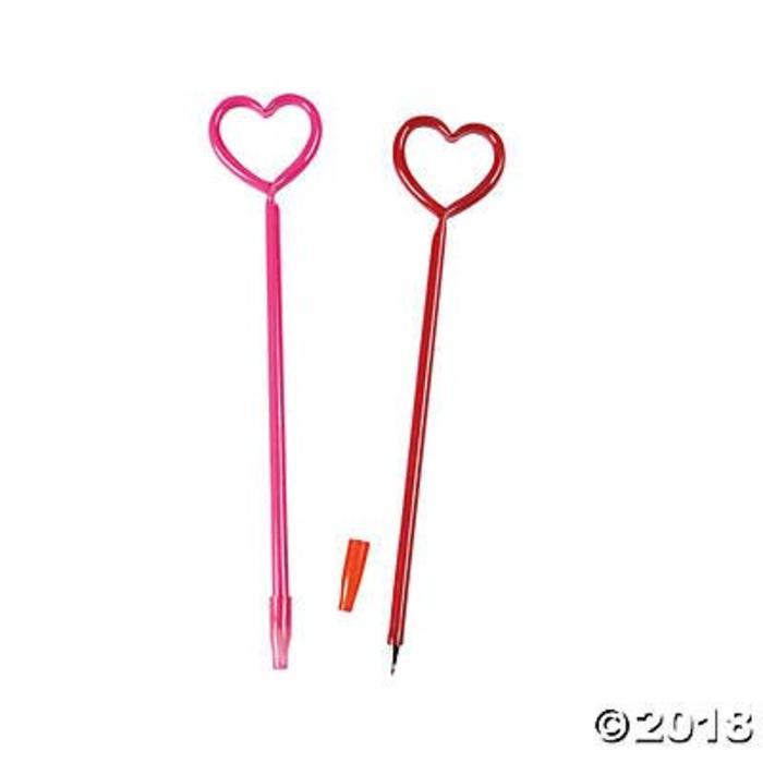 Glowing Heart Pen