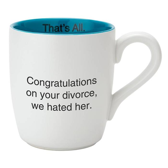 We Hated Her Divorce Mug