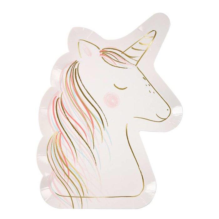 Unicorn Plate - 8 ct