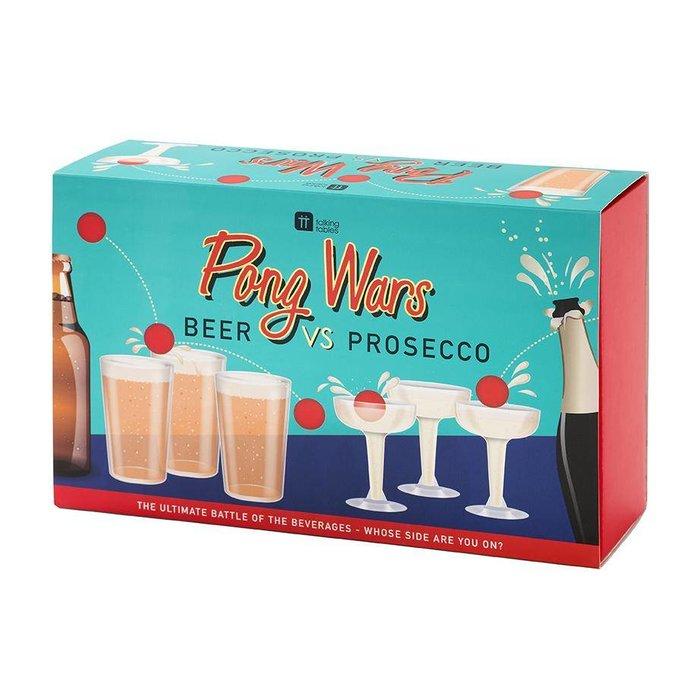 Pong Wars: Beer vs. Prosecco