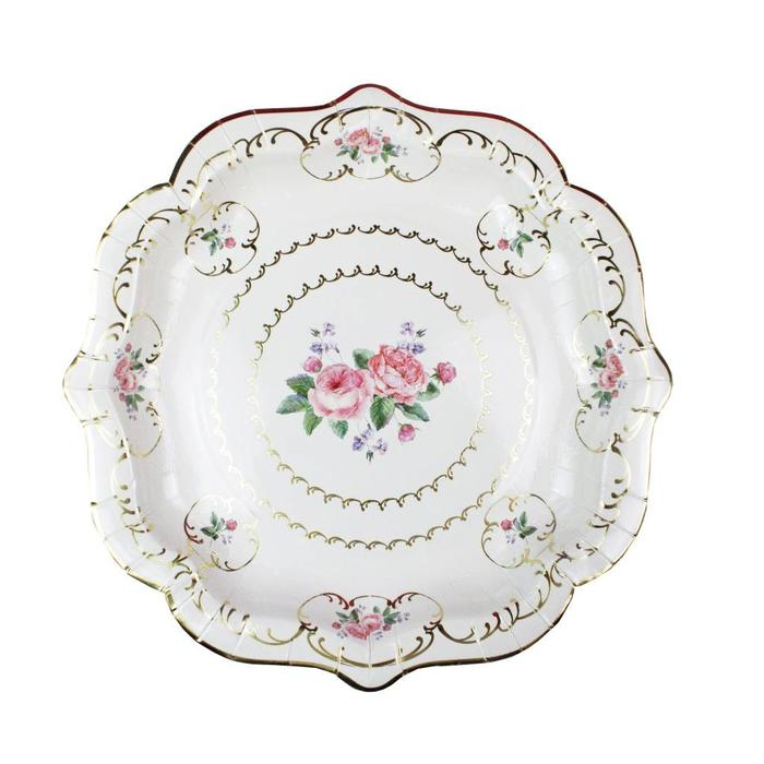 Tuly Chintz Paper Plate Medium