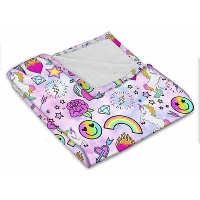 Unicorn Couture Fuzzy Blanket