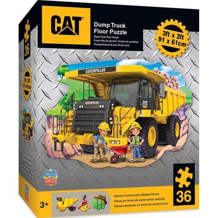 CAT - Dump Truck 36pc Floor Puzzle
