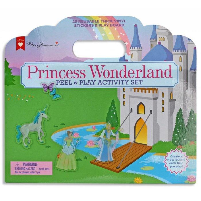 Princess Wonderland Peel & Play Activity Set