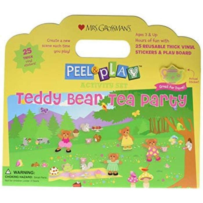 Teddy Bear Tea Party Activity Set