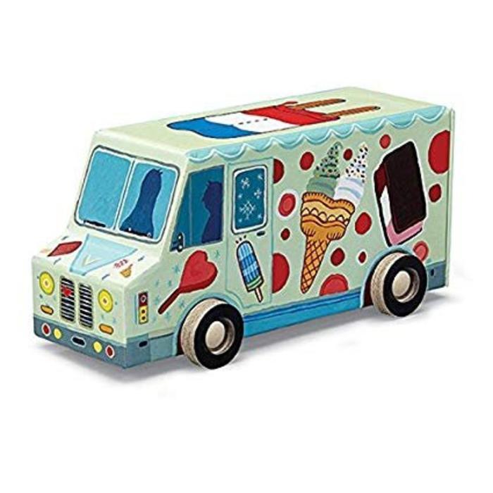 Mini Vehicle Puzzle - Ice Cream