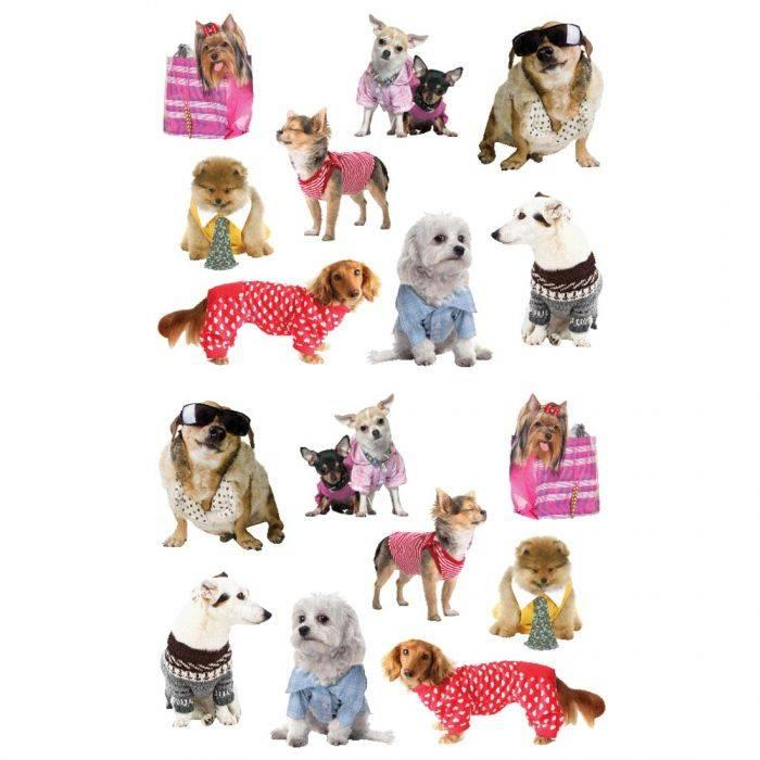 Pampered Dogs Sticker Sheets
