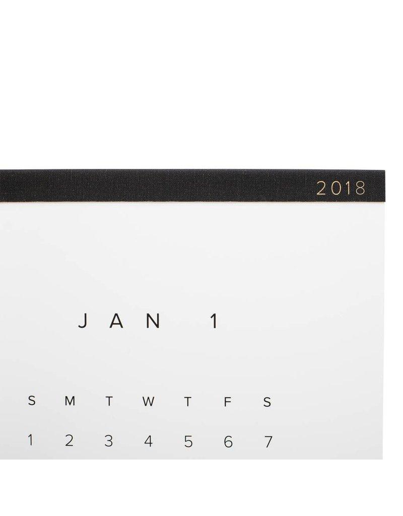 Calendrier 2018 par Appointed