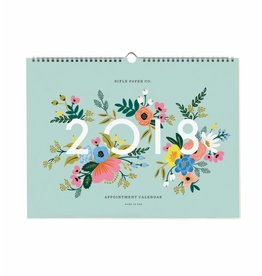 Rifle Paper Co. Calendrier de Rendez-vous 2018 par Rifle Paper Co.