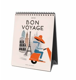 Rifle Paper Co. Calendrier 2018 Bon Voyage  par Rifle Paper Co.