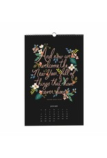 Rifle Paper Co. 2018 Inspirational Quote Calendar by Rifle Paper Co.
