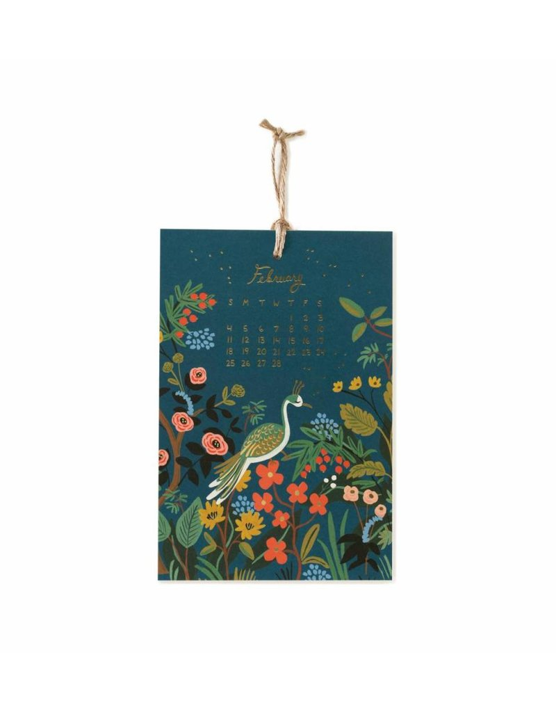 Rifle Paper Co. 2018 Midnight Menagerie Calendar by Rifle Paper Co.