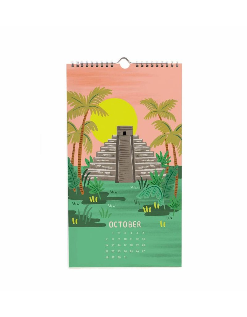 Rifle Paper Co. 2018 Yucatan Calendar by Rifle Paper Co.