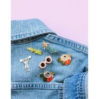 Rosa Enamel Pin by Rifle Paper Co.