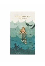 Rifle Paper Co. Mermaid Enamel Pin by Rifle Paper Co.