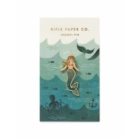 """Épinglette """"Mermaid"""" par Rifle Paper Co."""
