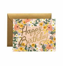 """Rifle Paper Co. Carte """"Rosé Birthday"""" par Rifle Paper Co."""