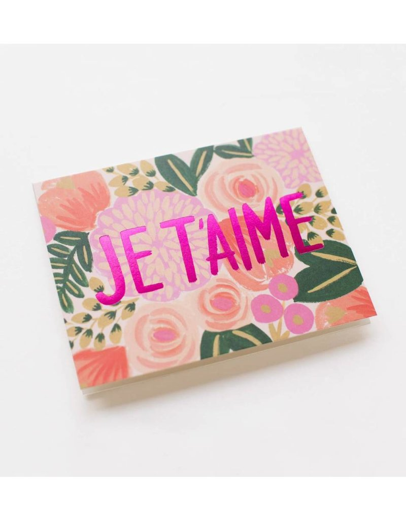 Rifle Paper Co. Je t'aime Card by Rifle Paper Co.