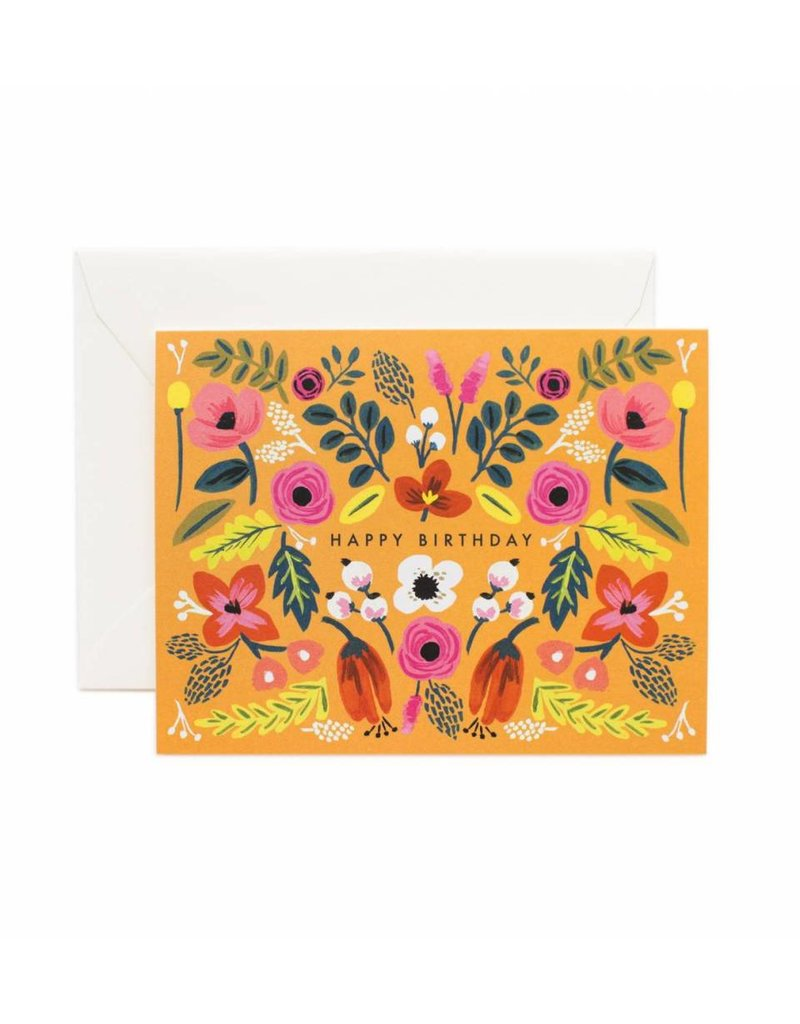 Rifle Paper Co. Folk Card by Rifle Paper Co.