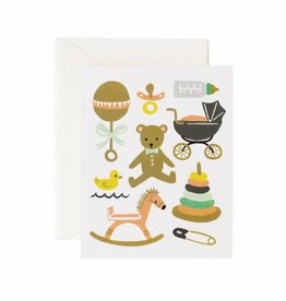 Rifle Paper Co. Classic Baby Card Card by Rifle Paper Co.