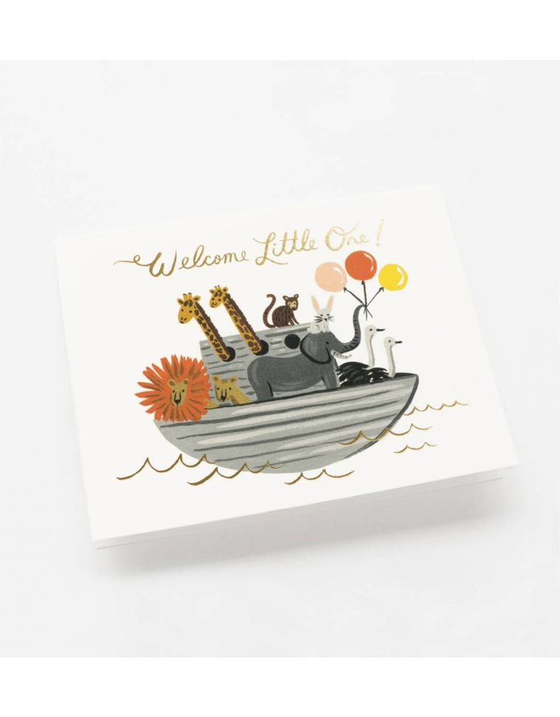 Rifle Paper Co. Noah's Ark Card by Rifle Paper Co.