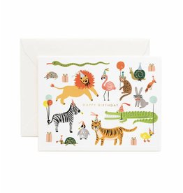 Rifle Paper Co. Party Animals Birthday Card by Rifle Paper Co.