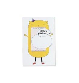 """Carte """"Ours"""" par Petit Happy"""