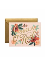 Rifle Paper Co. Carte Joyeux Noel par Rifle Paper Co.