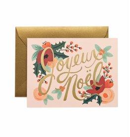 Rifle Paper Co. Carte Joyeux Noel par Rifle Paper Co.