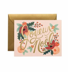 "Rifle Paper Co. ""Joyeux Noel"" Card by Rifle Paper Co."