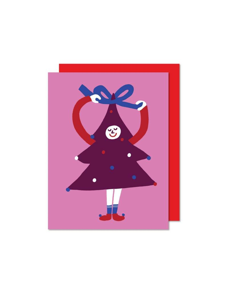 """Sapin Coquet"" Card by Paperole"