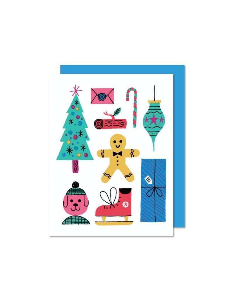 Carte Biscuit par Paperole